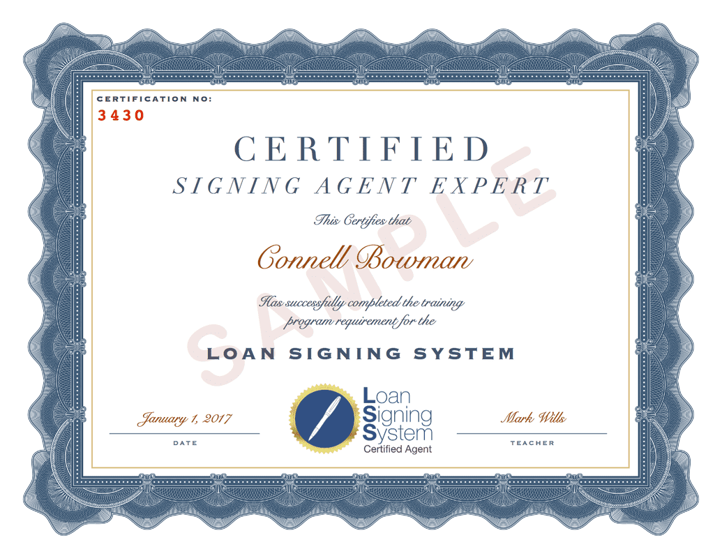 How To Post Your Loan Signing Agent Certification To Notary Resume