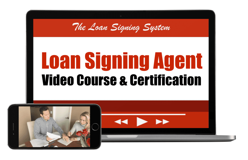 Loan Signing Agent Video Training Course - Loan Signing Agent Course