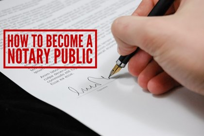 How to Become a Notary Public Loan Signing Agent