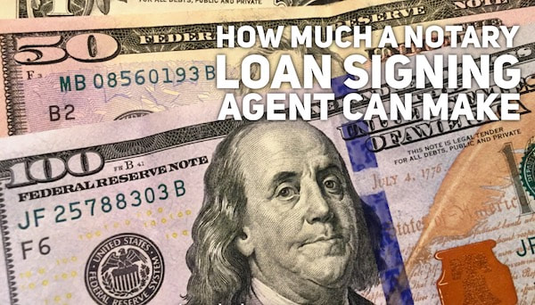 How much a notary signing agent can make salary