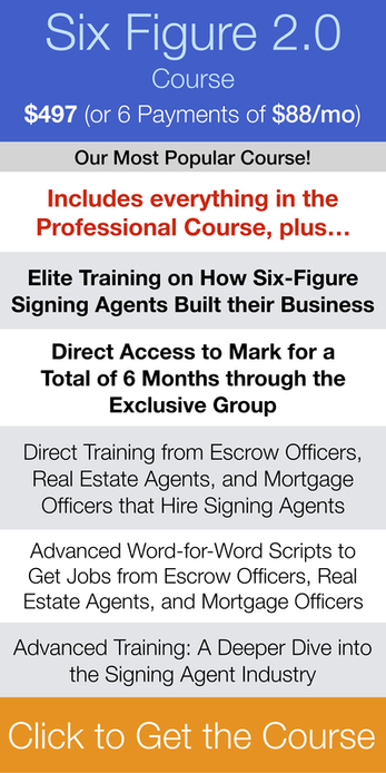Loan Signing System Six Figure Course