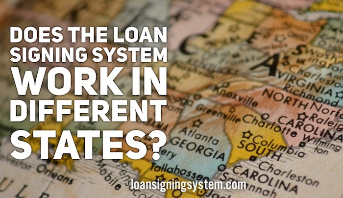 Does the Loan Signing System Notary Loan Signing Agent Training Work in Different States